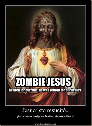 যীশু is a zombie