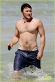 Joel Edgerton: Shirtless Dip at Bondi Beach - actors photo