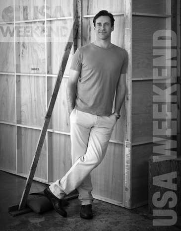 Jon Hamm - USA Weekend Magazine - Photoshoot