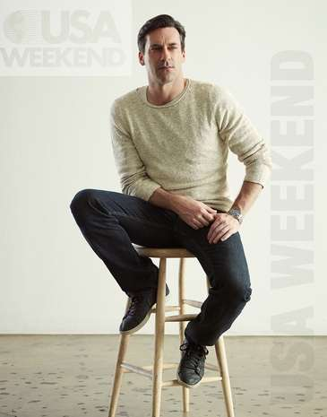 Jon Hamm - USA Weekend Magazine - Photoshoot