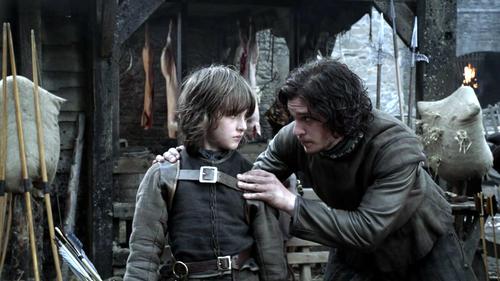 Jon and Bran