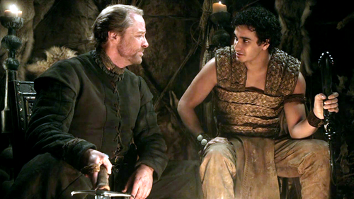 Jorah Mormont and Rakharo