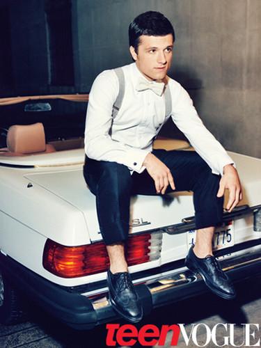 Josh in Teen Vogue