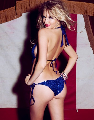 Wanita cantik kertas dinding with a bikini entitled Kate upton