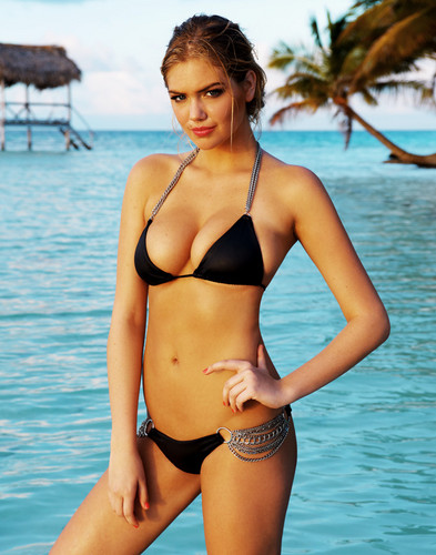 wanita hot wallpaper containing a bikini called Kate upton