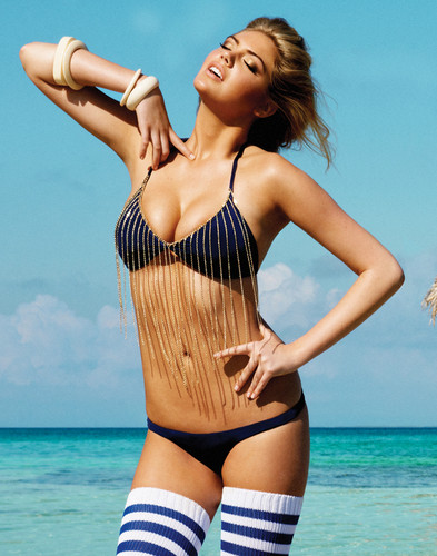 Wanita cantik kertas dinding possibly with a maillot, a bikini, and a baju renang called Kate upton