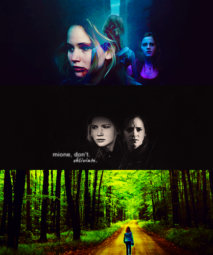 Katniss and Hermione