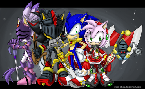 Sonic The Hedgehog Images Knights HD Wallpaper And