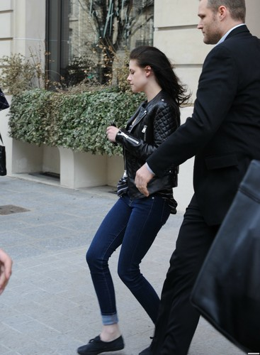 Kristen Stewart & Robert Pattinson out and about in Paris, France - March 5, 2012.