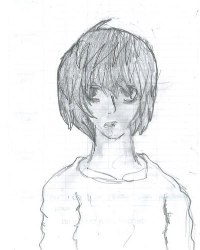 L(デスノート) sketch :p