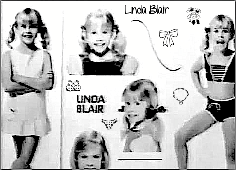 The Linda Blair Pretty Corner দেওয়ালপত্র called Linda Blair