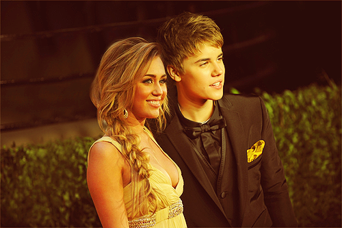 MILEY AND JUSTIN