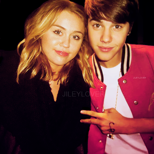 Are mistaken. Justin bieber and miley cyrus