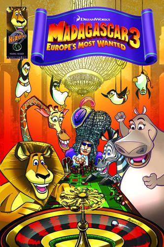 Madagascar 3 comic
