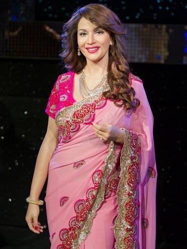 Madhuri Dixit at Madame Tussauds