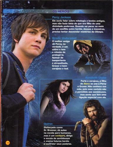 Magazine Percy Jackson