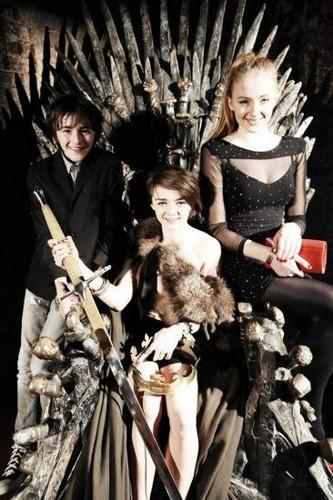 Maisie, Sophie & Isaac