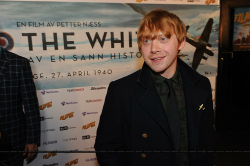 March 4, 2012 - premiere of 'Into the White' in Oslo