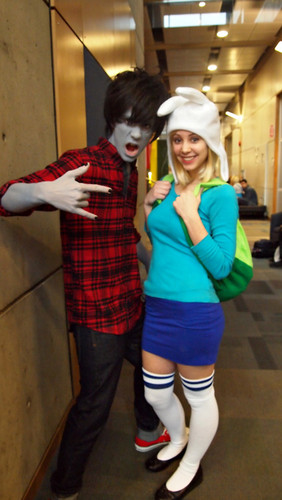 Marshall Lee and Fionna ! - adventure-time-with-finn-and-jake Photo