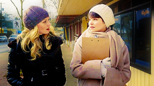 Snow White/Mary Margaret Blanchard wallpaper called Mary Margaret & Emma