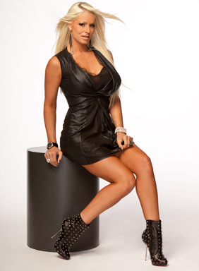 Maryse Ouellet wallpaper possibly with bare legs, a bustier, and tights entitled Maryse Photoshoot Flashback