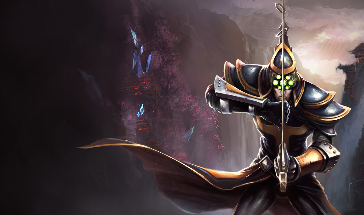 League Of Legends Images Master Yi The Wuju Bladesman HD Wallpaper And Background Photos