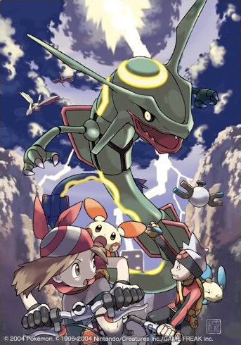 May and Brendan encounter Rayquaza!