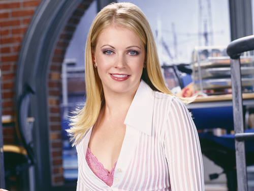 Мелисса Джоан Харт Обои with a portrait entitled Melissa Joan Hart