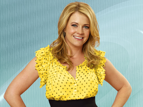 Melissa Joan Hart karatasi la kupamba ukuta probably containing a playsuit and a portrait titled Melissa Joan Hart