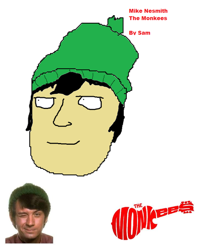 Mike Nesmith fan art par me.
