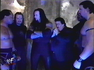 Ministry Of Darkness Backstage