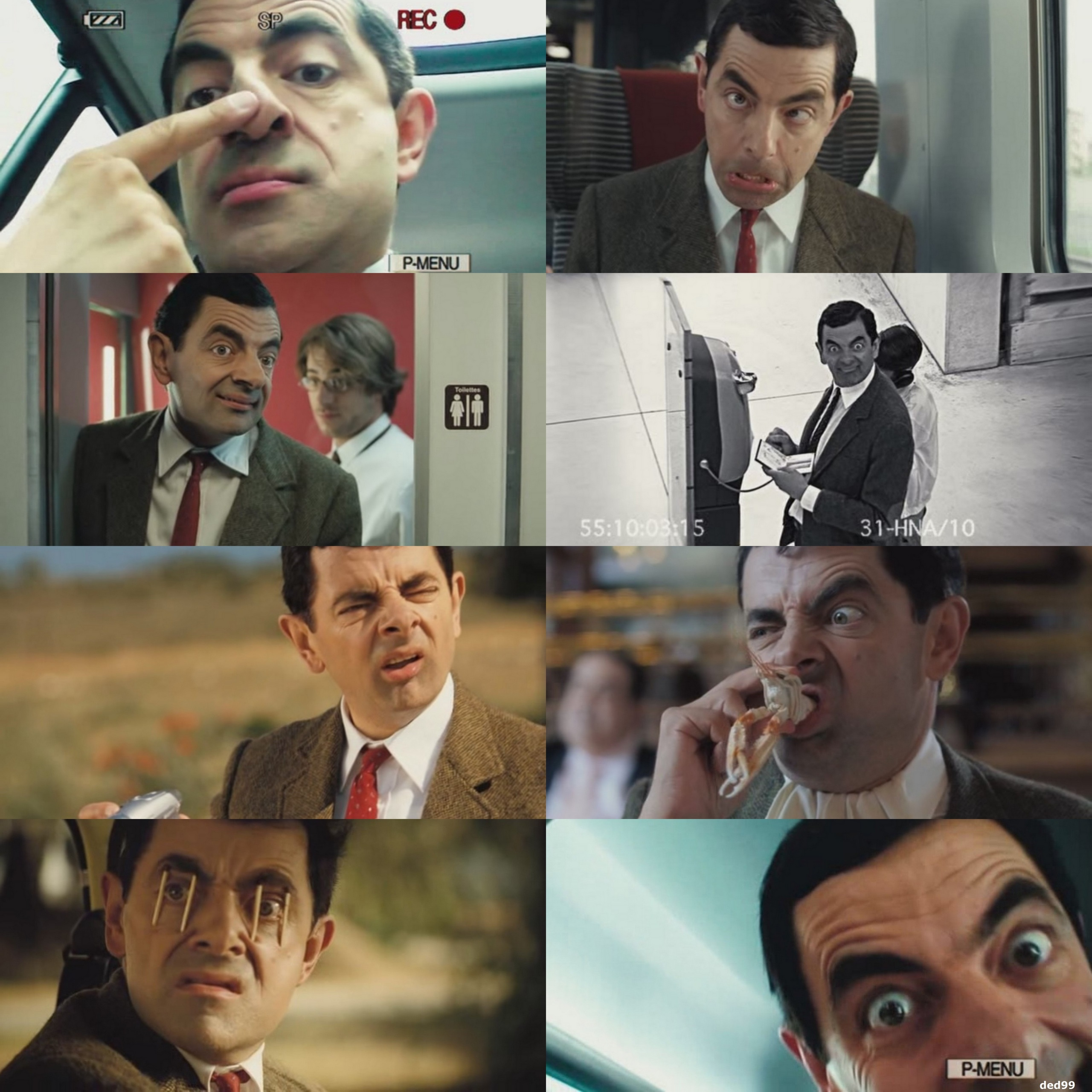 Mr.Bean's holiday