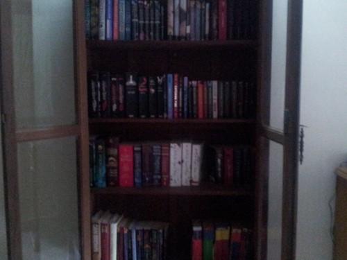 My Book Cupboard!