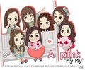 My My-Apink  - a_-pink fan art