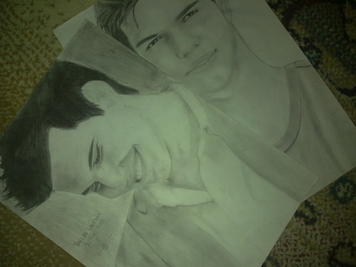 My Taylor Lautner sketches