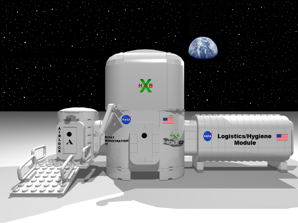 astronaut space habitat - photo #26