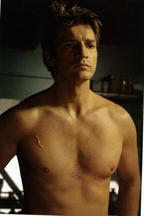 Nathan Fillion fond d'écran with a gros morceau, hunk called Nathan *_*