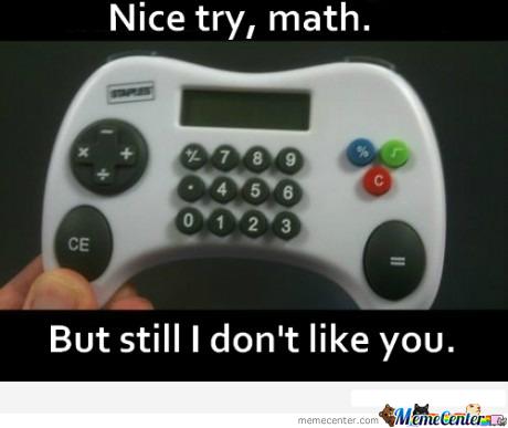 Nice try math, nice try