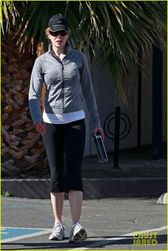 Nicole Kidman: Early Morning Workout