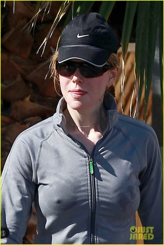 Nicole Kidman: Early Morning Workout