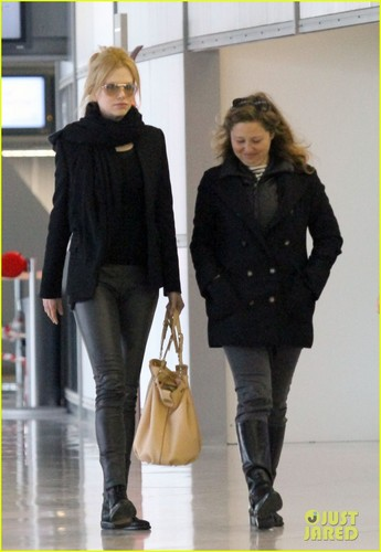Nicole Kidman: Leather Pants in Paris