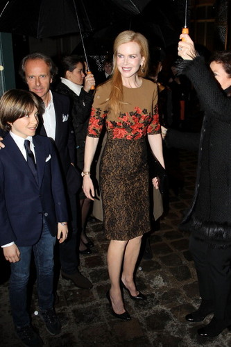 Nicole Kidman - 'TOD'S' private party Fashion Week