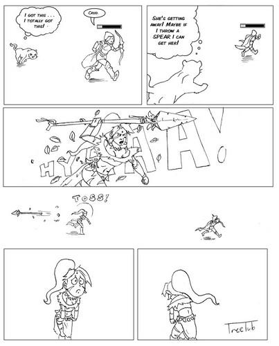 Nidalee Comic