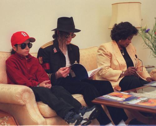 Omer Bhatti, Michael Jackson and Katherine Jackson