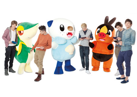 One Direction with Pokemon BW