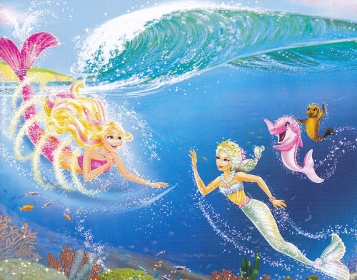 litrato from Barbie in a Mermaid Tale 2 Book!!!!