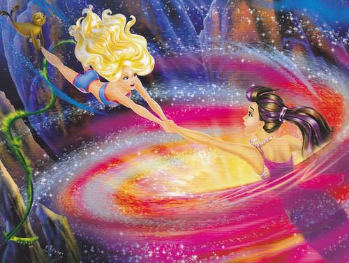 fotografia from barbie in a Mermaid Tale 2 Book!!!!