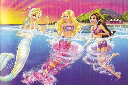 fotografia from barbie in a Mermaid Tale 2 Book!!!!