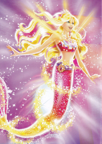 bức ảnh from búp bê barbie in a Mermaid Tale 2 Book!!!