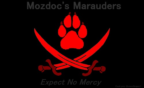 Pirate Furry Flag